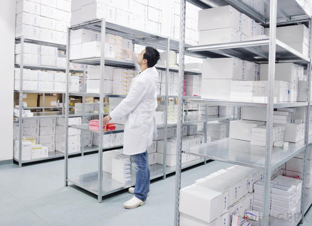 Medical store keeping and systems for arranging medicines