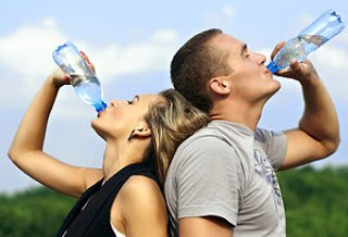 Suggestions of fluid intake for Athletes