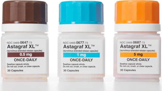 ASTAGRAF XL (tacrolimus extended-release capsules)